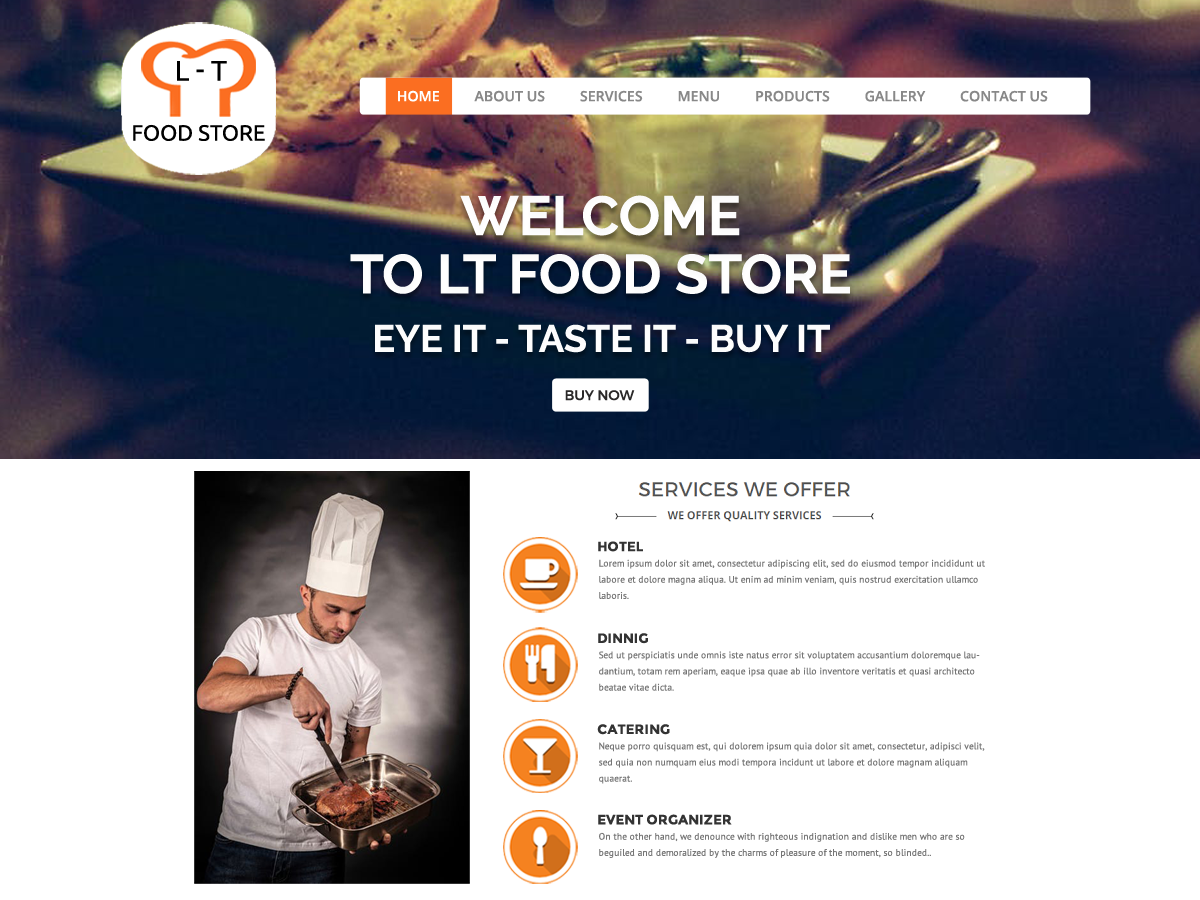 food restaurant pro