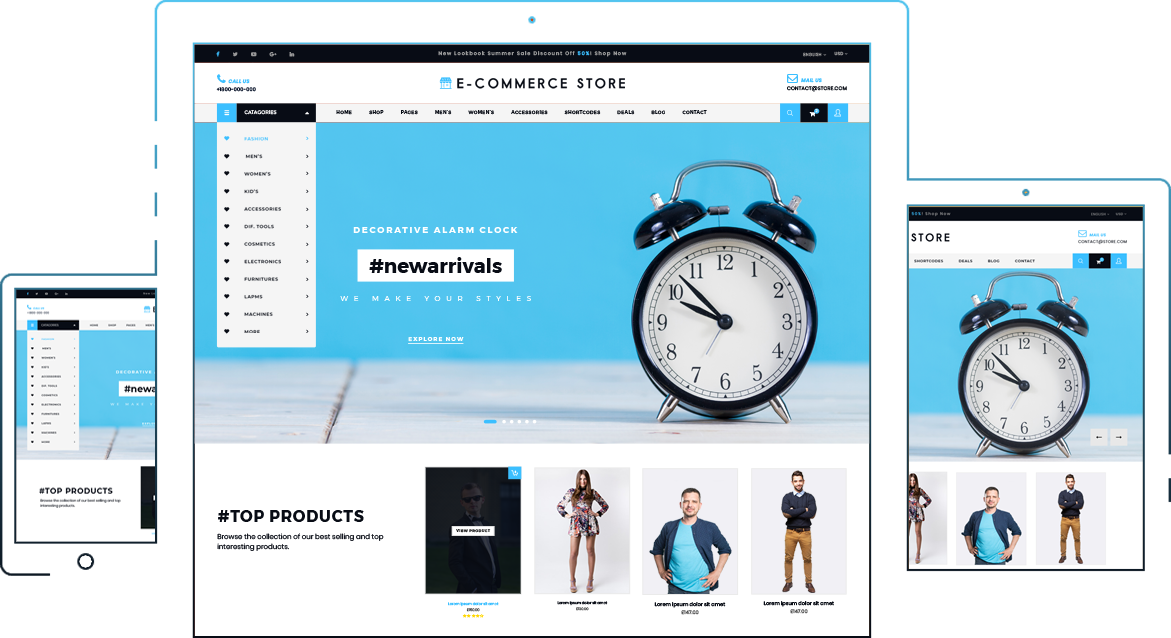 The Best Free Ecommerce WordPress Theme on the Internet